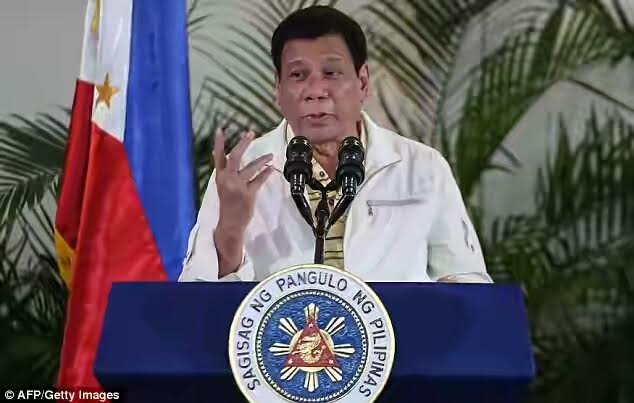 Philippines president Rodrigo Duterte comes under fire for defending adultery
