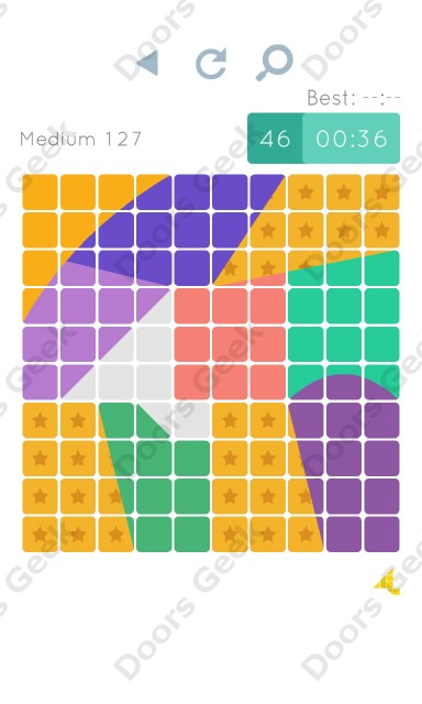 Cheats, Walkthrough for Blocks and Shapes Medium Level 127