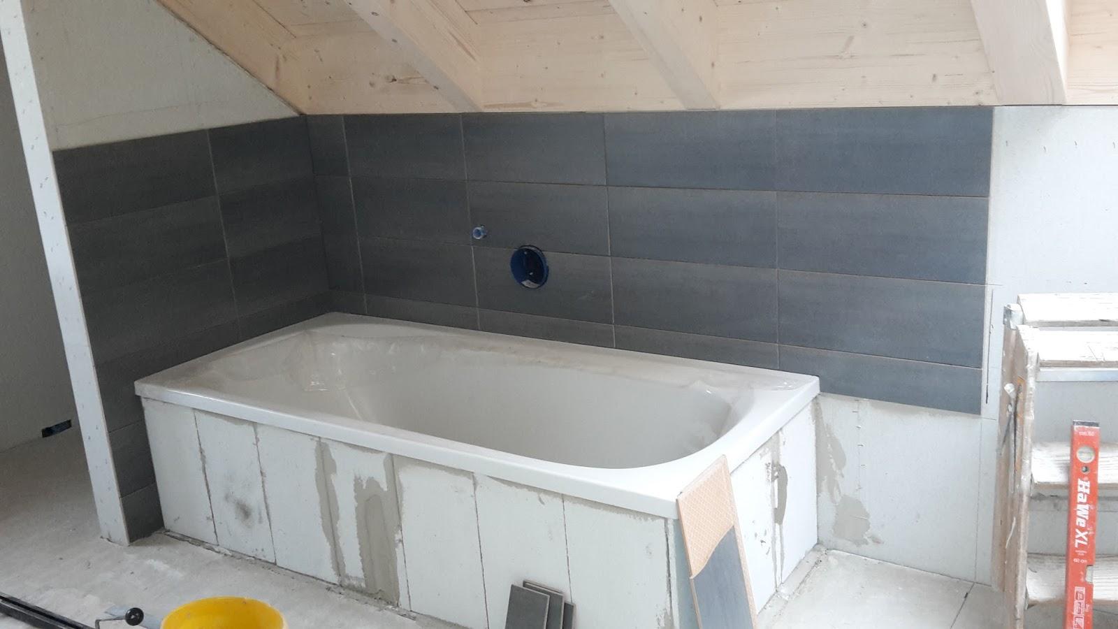 Jenny und lars bauen ein haus juni 2016 - Dichtanstrich badezimmer ...
