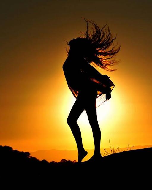 Sunset make Beautiful Shadow   Free Horny Lesbian Anal Sex