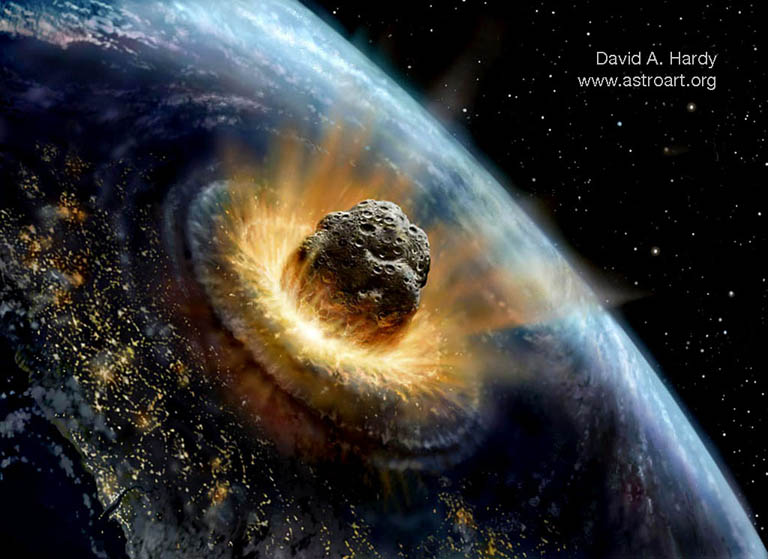 biggest meteor to hit earth recently - photo #10
