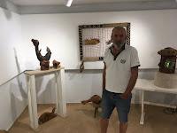 Branko Bušić, izložba Moru vjerujem Povlja slike otok Brač Online