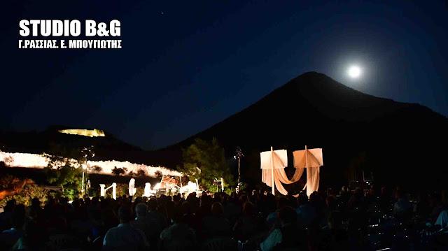 Ελληνογερμανική συναυλία κλασικής μουσικής στις Μυκήνες κάτω από το ολόγιομο φεγγάρι (βίντεο)