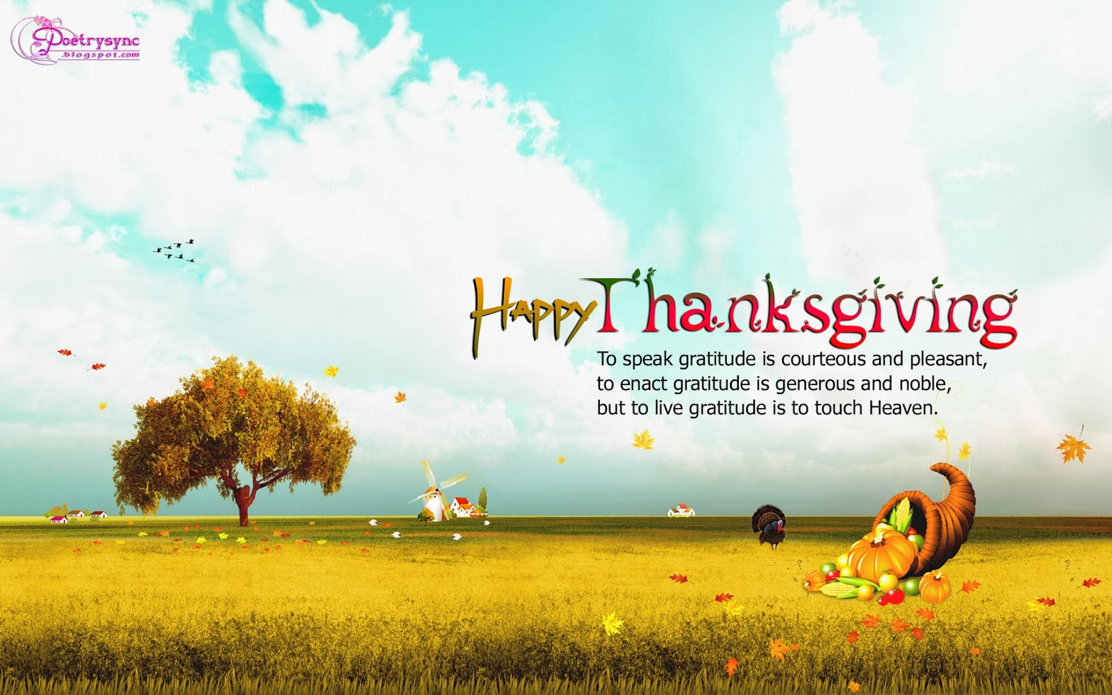 Happy Thanksgivings Day Wishes Quotes With Images Really