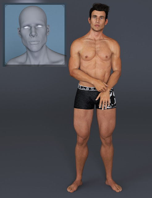 M3D Landon HD Morphs for Michael 7