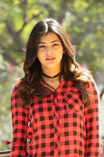 Actress Hebah Patel Stills in Blue Denim Jeans at Nanna Nenu Naa Boyfriends Movie Success Meet  0025.JPG