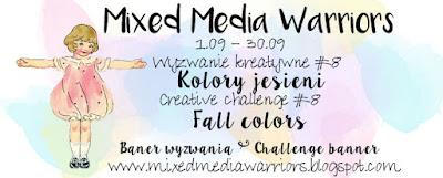 Wyzwanie MMW #8: Kolory jesieni   Challenge MMW #8: Fall colors