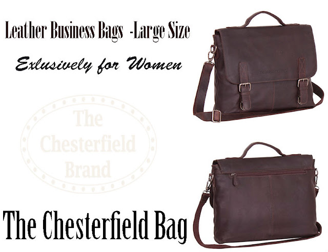 Business Bag Large Brown Alden - The Chesterfield Brand