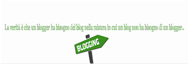 scelta blogger blog blogging web writing web writer
