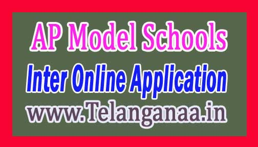 AP Model Schools Inter 2017 Online Application at cse.ap.gov.in
