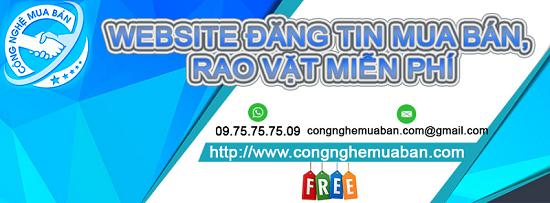 Website đăng tin rao vặt miễn phí uy tín thoả sức bán hàng tạo backlink