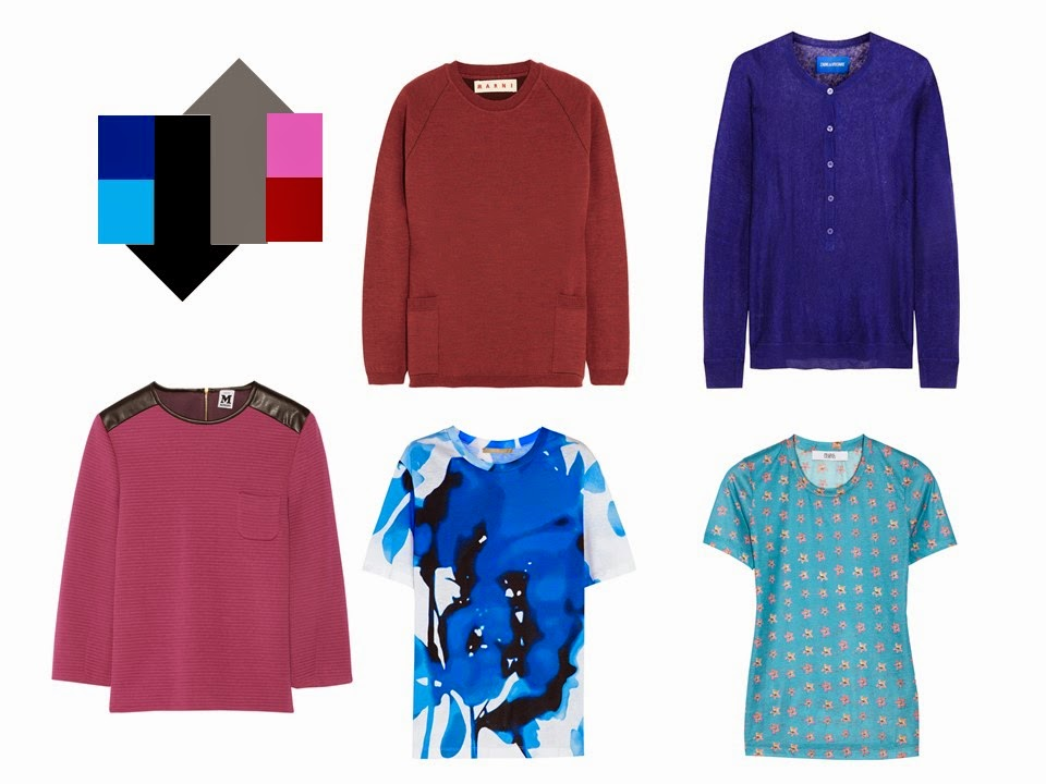5 bright tops, to add to a neutral core wardrobe