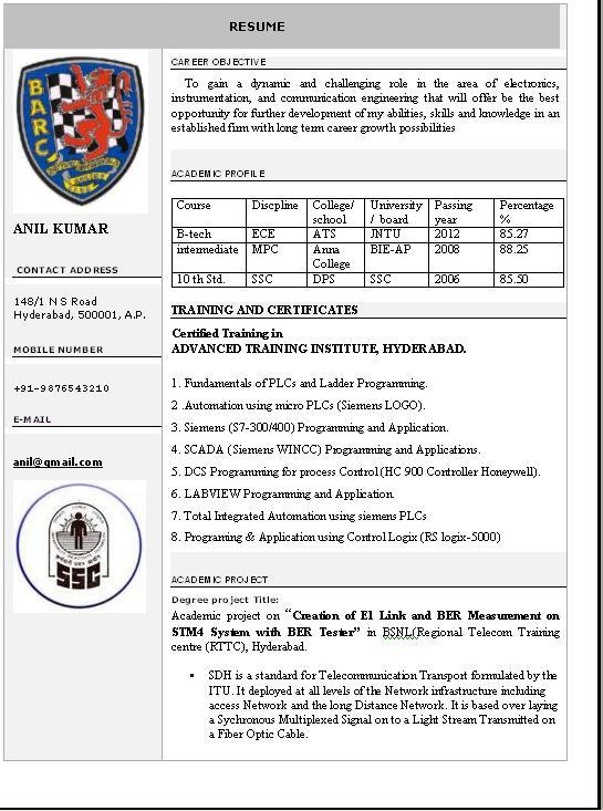 word format resumes geocvcco - Sample Resume Download In Word Format