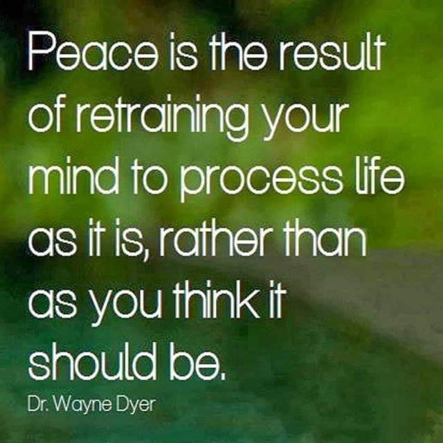 Peace Of Mind Quotes: Inspirational Picture Quotes...: Peace Is The Result Of
