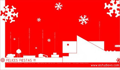 Holiday Greetings from Florida modern home specialist and broker Tobias Kaiser