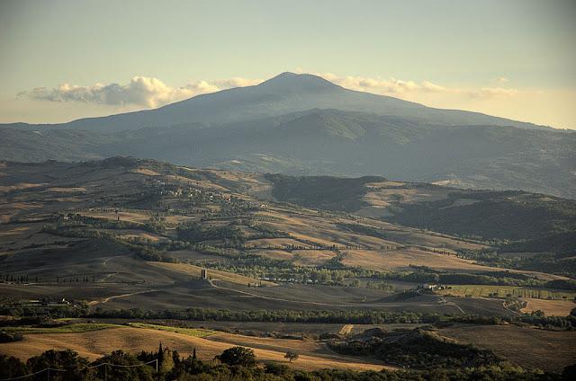 Landscape Trinoro val d'Orcia Monte Amiata