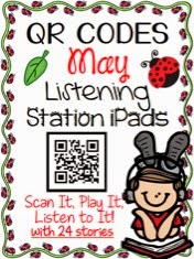 http://www.teacherspayteachers.com/Product/QR-CODES-for-24-Stories-in-your-Listening-Stations-MAY-1129806