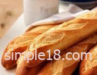 خبز طويل ورفيع