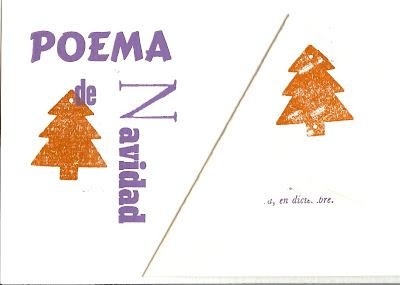 Francisco Vela, poema de navidad, Ancile