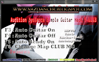 Free Cheat AyoDance Simple Auto Guitar V6113