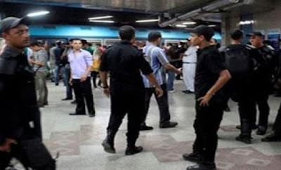 امن مترو الأنفاق