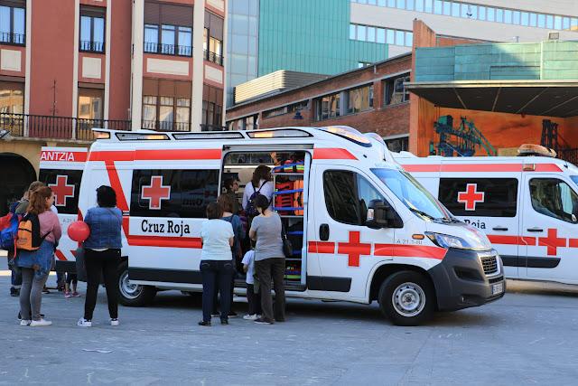 Actividad de Cruz Roja en Herriko Plaza