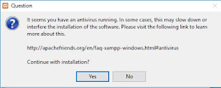 Cara Instal XAMPP di Windows 10.2