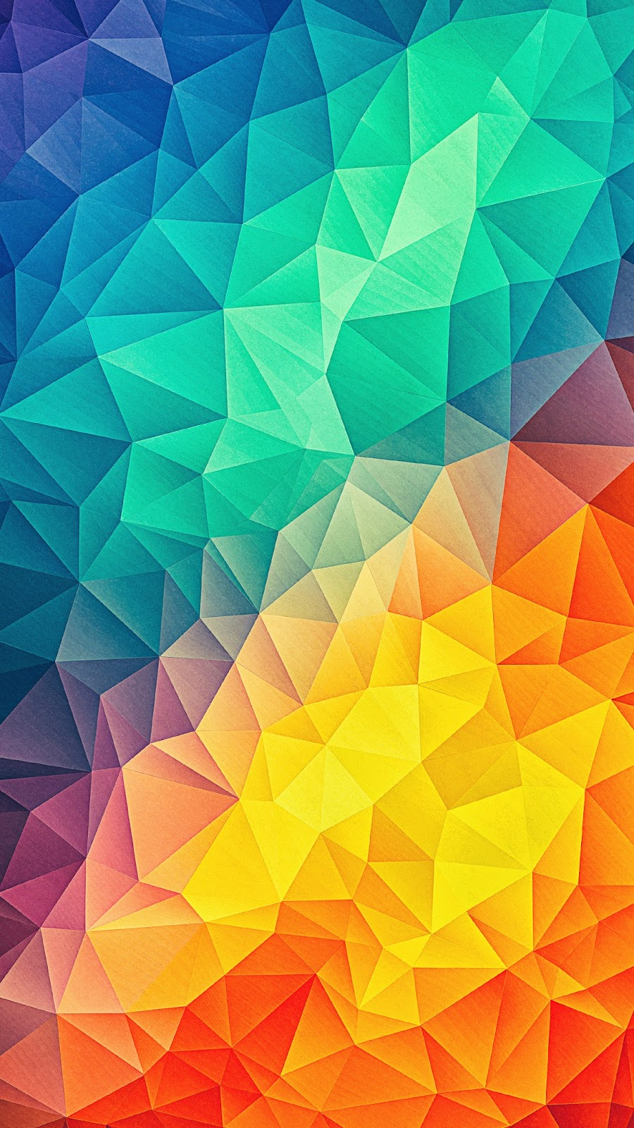 Fondo De Pantalla Triángulos De Colores Abstractos Fygo Fondos