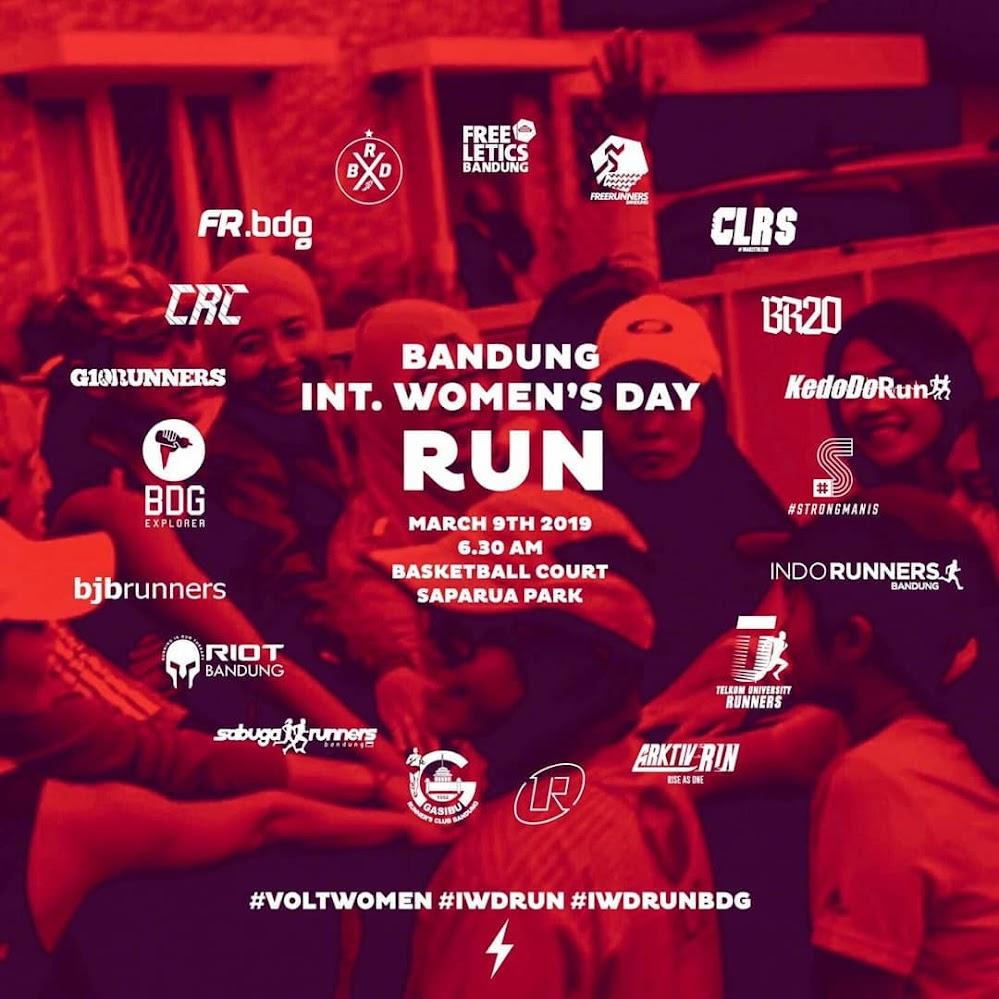 International Women's Day Run - Bandung • 2019