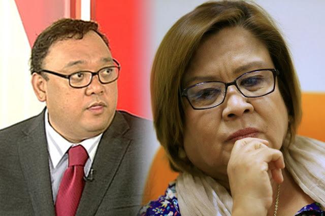 Harry Roque wants De Lima to quit Senate!