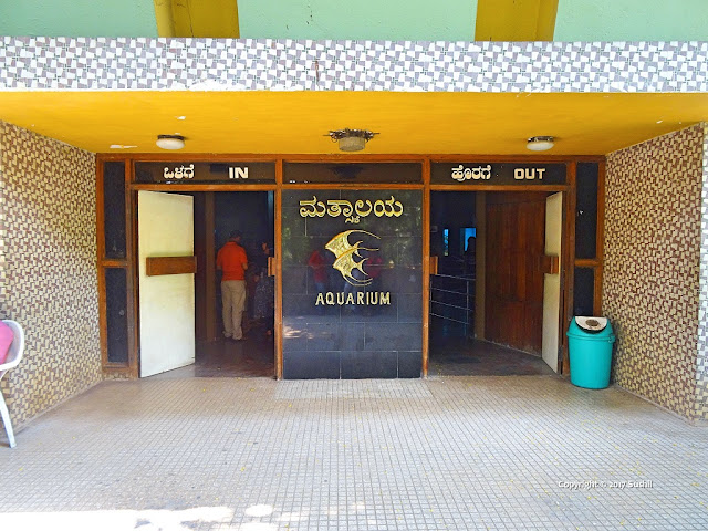 1st Floor Entrance of Bangalore Aquarium, Bengaluru