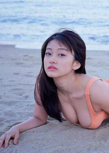 Yamachi Mari 山地まり Weekly Playboy 2016 No 3-4 Pictures 4