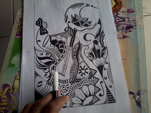 Doodle Art Planet
