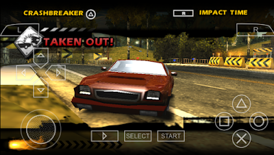 Download Burnout Dominator PPSSPP ISO For Android High Compress Full Version Terbaru 2017 Gratis