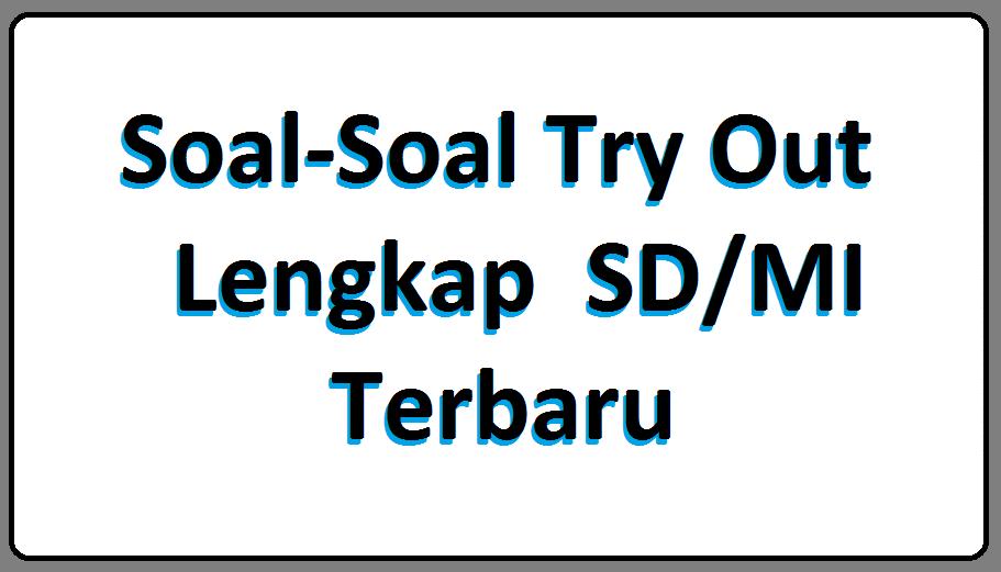 Download Soal Soal Try Out Lengkap Sd Mi Terbaru Akademik Guru