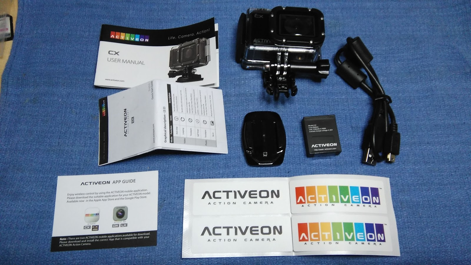 Tech Stuff Activeon Camera