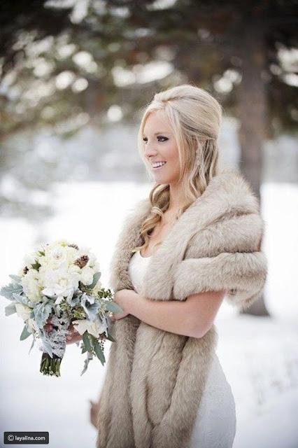 مكياج العروسة فى الشتاء خبير التجميل