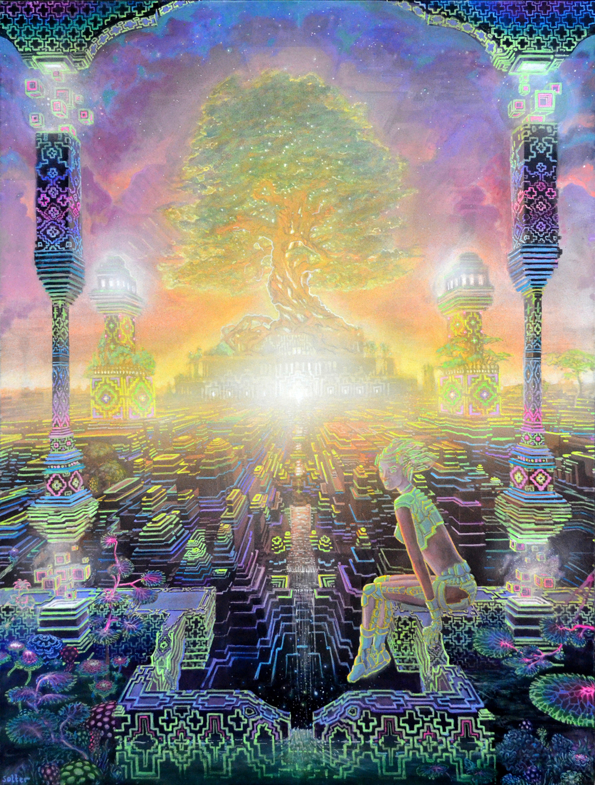 The Visionary Art of Jonathan Solter