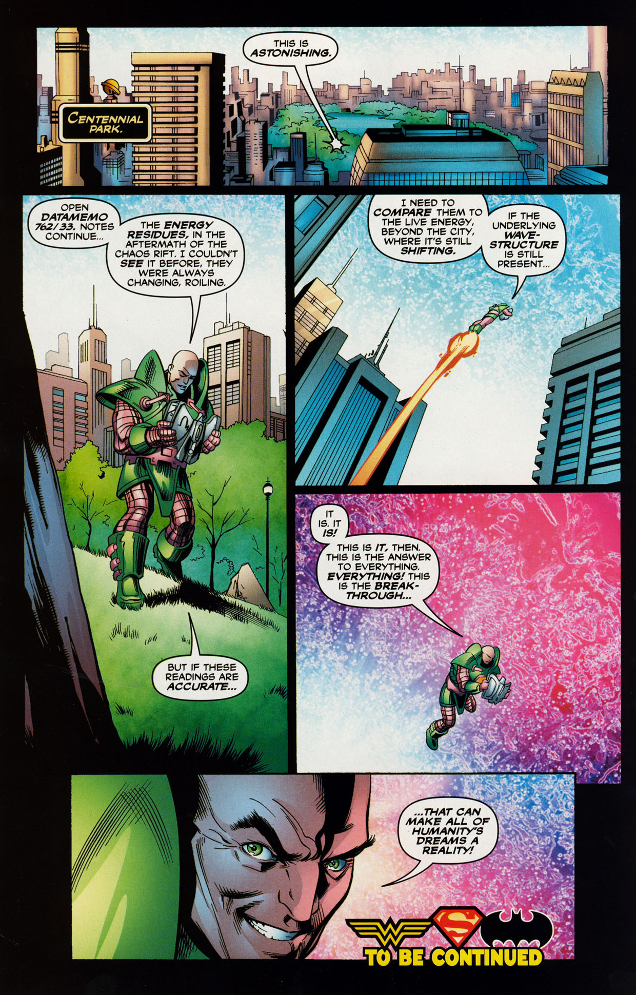 Read online Trinity (2008) comic -  Issue #41 - 17