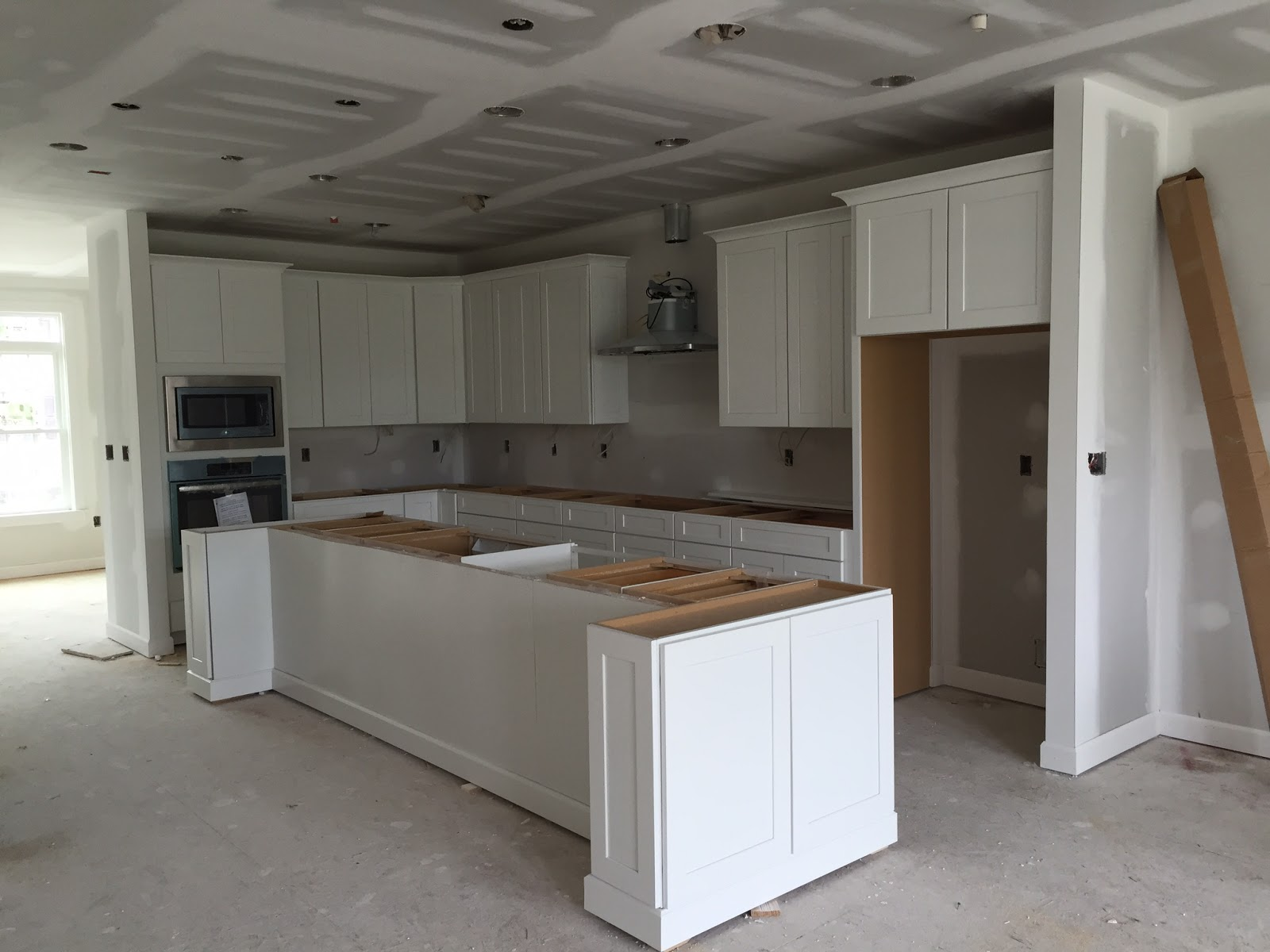 New White Kitchen Cabinets Kitchen Cabinets Building Our Nvhomes Andrew Carnegie