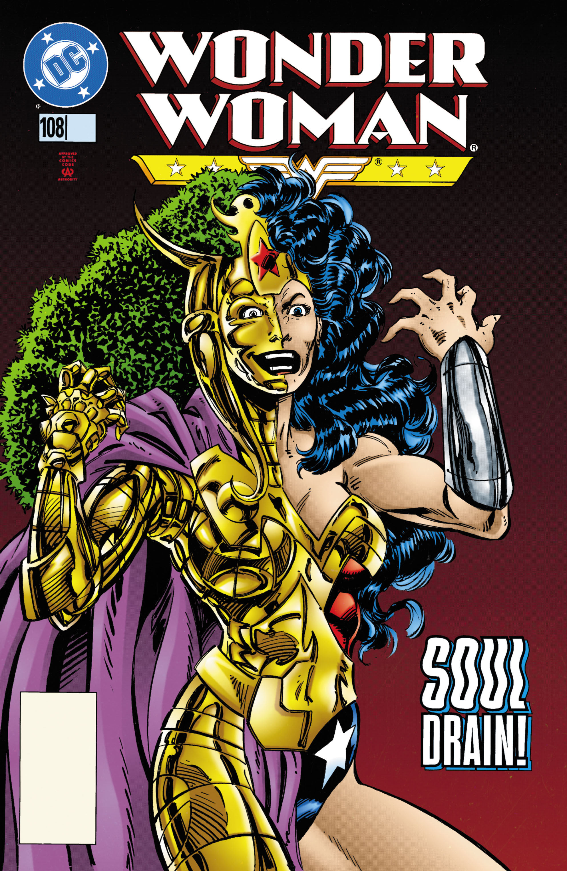 Read online Wonder Woman (1987) comic -  Issue #108 - 1