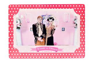souvenir photo booth wedding