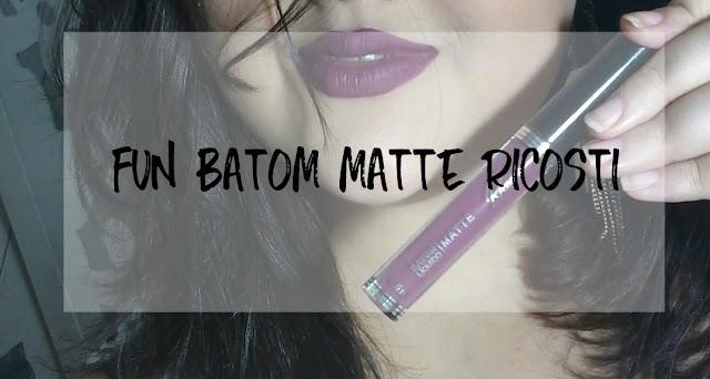 RICOSTI BATOM MATTE ROXO