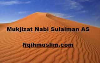 mukjizat Nabi Sulaiman