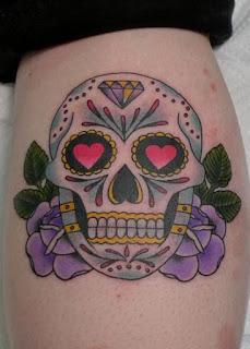 tato tengkorak untuk cewek