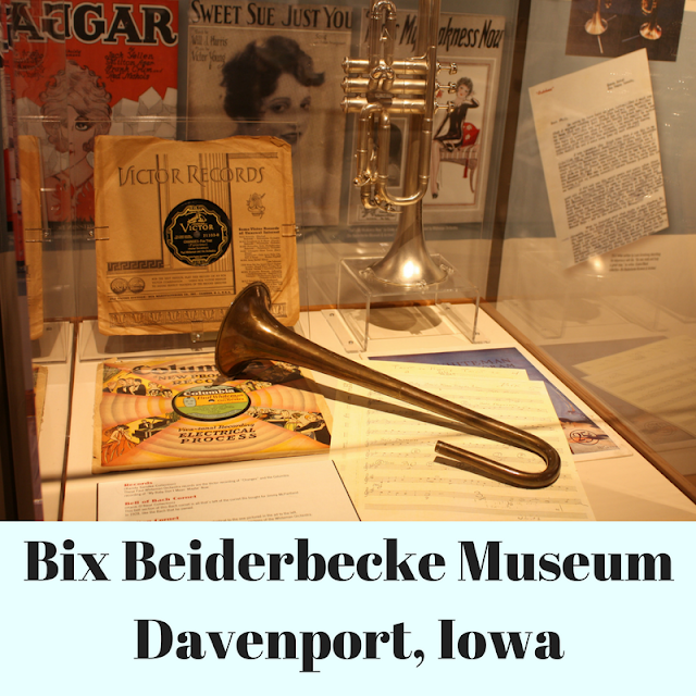 Bix Beiderbecke Museum in Davenport, Iowa