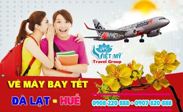 Vé máy bay tết Đà Lạt đi Huế 2018