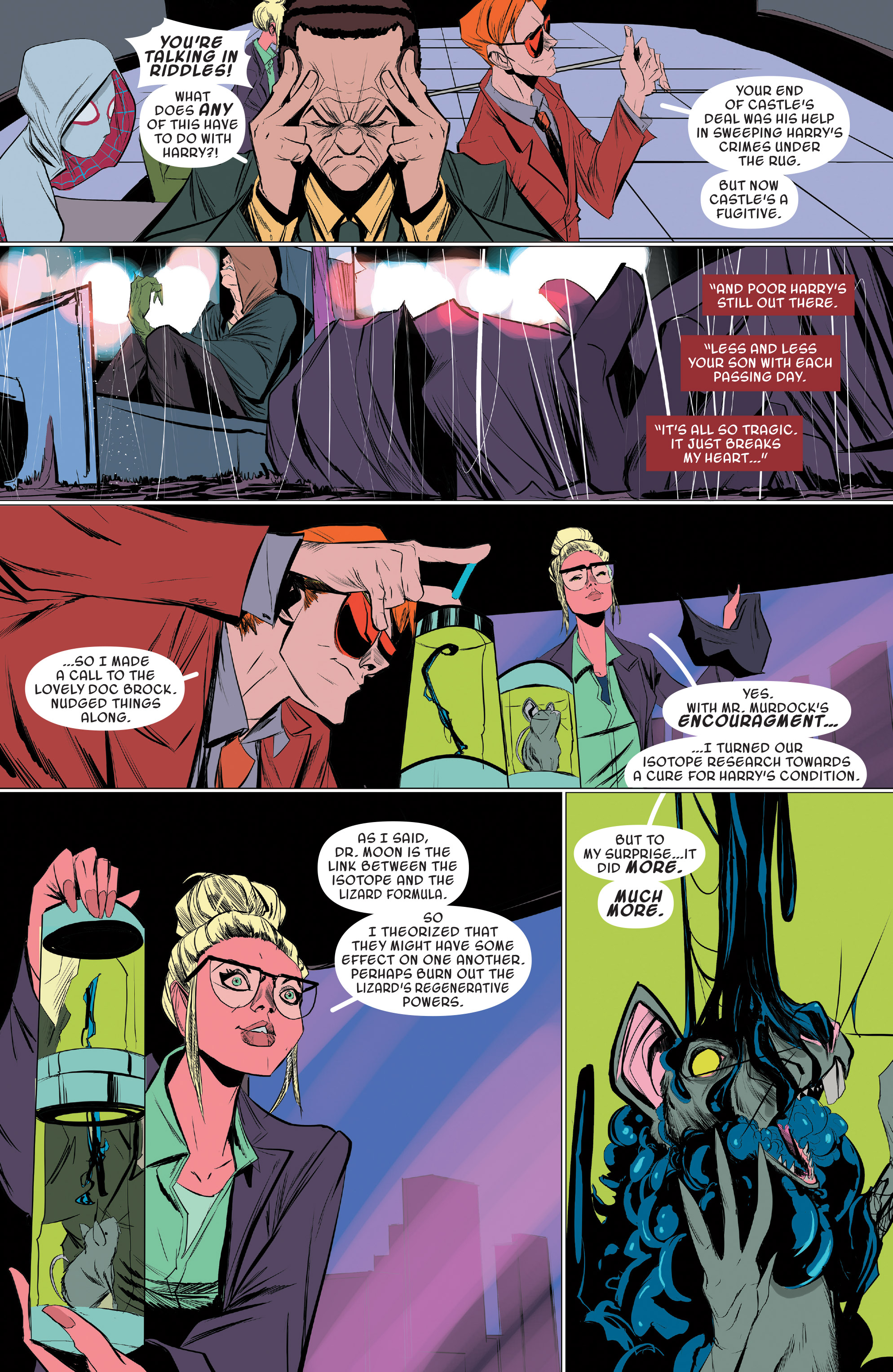 Read online Spider-Gwen [II] comic -  Issue #19 - 17