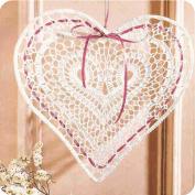"""Adorno """"Evocando a San Valentin"""" a Crochet"""