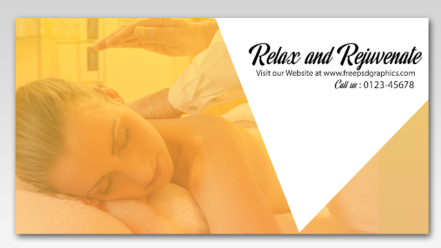 Free PSD Graphics Spa Facebook Post Banner Design
